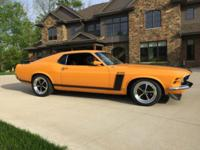 Boss Trans-Am Inspired 1970 Ford Mustang FastbackThis
