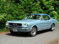Beautifully Restored 1966 Ford Mustang Convertible