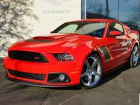 2014 Ford Mustang GT Roush Stage 3 finished in Race Red