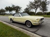 Dog not included...This 1966 Ford Mustang Convertible
