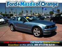 Mustang GT Premium, 2D Coupe, 4.6L V8 24V, 5-Speed