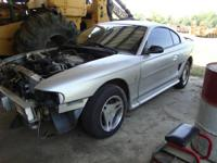 I am parting out a damageded 1998 Ford Mustang. It was