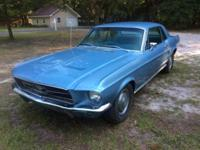 1967 Ford Mustang w/ Automatic Transmission and a 302