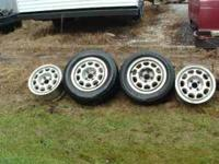 "THIS IS A SET OF 4 OEM FORD MUSTANG 10 HOLE 15"" ALLOY"