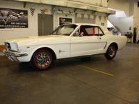 1965 Mustang . This is a car for those who demand the