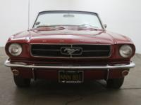1965 Ford Mustang Convertible 289 1965 Ford Mustang
