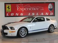 2007 Ford Shelby Mustang GT500This white on black