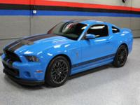 2013 FORD MUSTANG SHELBY GT500. THE CAR ONLY HAS 3300