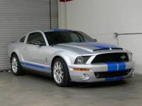 This 2008 Shelby GT500 KR is a special edition 40th