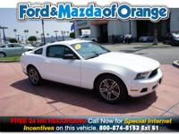 Mustang V6 Premium, Ford Certified, 2D Coupe, 3.7L V6