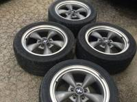 great condition wheels and tires both