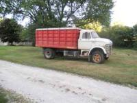 "1969 Ford N 700, 13' bed and hoist 52"" sides, newer bed"