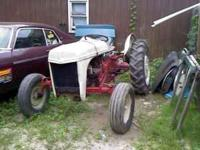 great old ford tractor. perfect running, 3 pt hitch pto