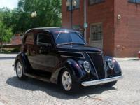 For sale is a beautiful, newly completed 1937 Ford