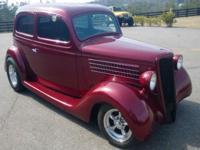 FORD IN A FORD!! 1935 FORD SEDAN, ALL STEEL EXCEPT