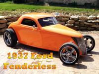 1937 Ford �Fenderless� Hot Rod This classic custom
