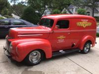 Here is a rare find! A 1942 Ford Panel Delivery (very