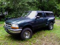 1998 Ford Ranger Flair-side 2WD 2.5. Tranny one year