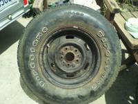 ford ranger 1 rim and tire it firestone 225/70/r14