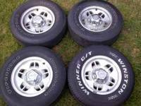 "Set of 4 ""Deer Hoof"" style 14"" Ranger Wheels with Ford"