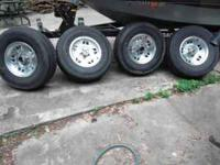 Here are four 15 inch rims off my Ford Ranger 4x4. Not