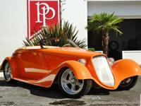 This ultra-cool 1933 Roadster has both an aggressive