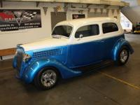 Very rare all steel 1935 Ford Slantback, show quality