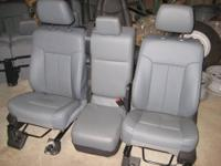 For Sale: Factory Ford Super Duty 40/20/40 front seats