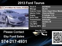 Call Eby Ford Sales at  Stock #: DG199363 Year: 2013