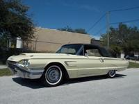 This 1965 Ford Thunderbird Convertible has 104k miles