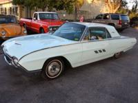 All Original 1963 Ford Thunderbird. just in from a