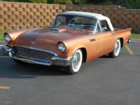 1957 Ford Thunderbird Convertible:Air conditioning,312