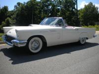 1957 Thunderbird, Two tops; Power Steering; Power