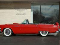 This 1956 Ford Thunderbird, finished in correct Red