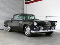 1955 Ford Thunderbird For Sale. This black beauty was
