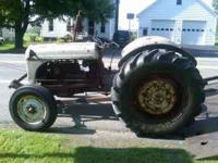 I have a very nice running ford tractor with a three