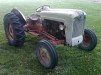 Here is a 1954 Ford NAA tractor that is ready to go to