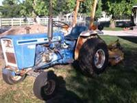 I have for sale a 1982 Ford 1500 Tractor. It has only