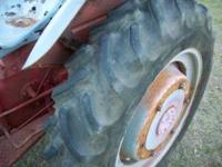 THIS IS A VERY GOOD RUNNING 9N TRACTOR. GOOD TIRES