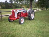 I am listing this tractor for a friend. All I know