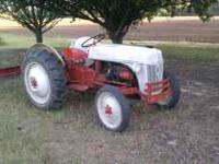 8n Ford tractor, new radiator, runs great,  Location: