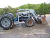 Ford 4000 Tractor with loader $3,000.00 email me Call: