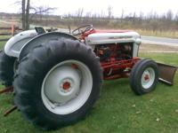 1959 Ford 871 Select-O-Speed with plow for sale. 48