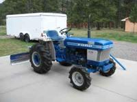 Ford tractor in new shape. 20 horsepower diesel motor,