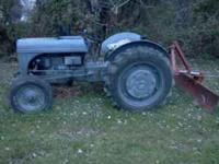 I have ford tractor with blade and finishing mower and