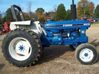Ford 6610S 2wd 82hp tractor 955hours good condition