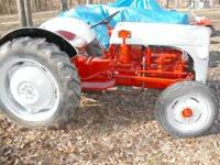 Good looking tractor .Blasted, painted,& serviced. Good