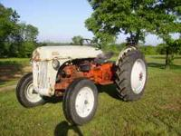FORD TRACTOR 8N RUNS AND CRANKS GOOD STRONG LIFT NEW