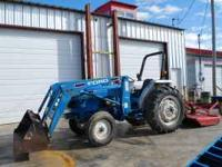 1993 Ford 3415 Tractor with front-end loader and bush