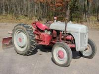 Ford 9N tractor and back blade in excellent condition